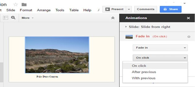 Animations can be toggled manually or automatically