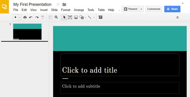 How to Use Google Slides interface
