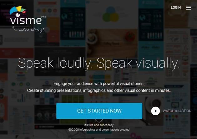 Professional Presentation Software - Visme