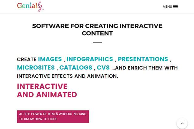 Professional Presentation Software - Genially