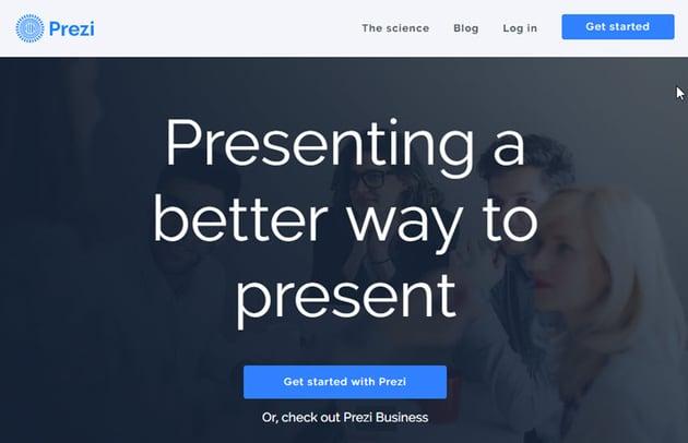Professional Presentation Software - Prezi