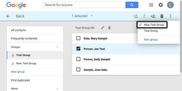 Gmail tutorials--managing Gmail contacts
