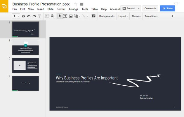 Google Slides Presentation