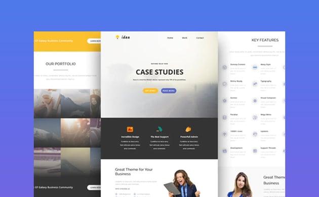 Idea - Mailchimp Email Design