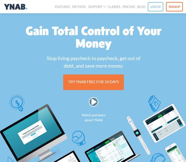 YNAB Personal Budget Software