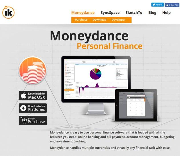 Moneydance Personal Finance Software