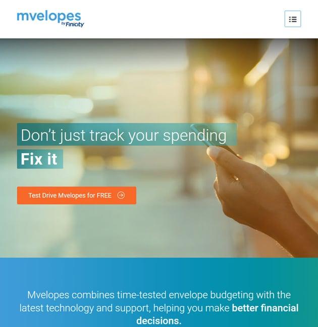 Mvelopes Budget Software