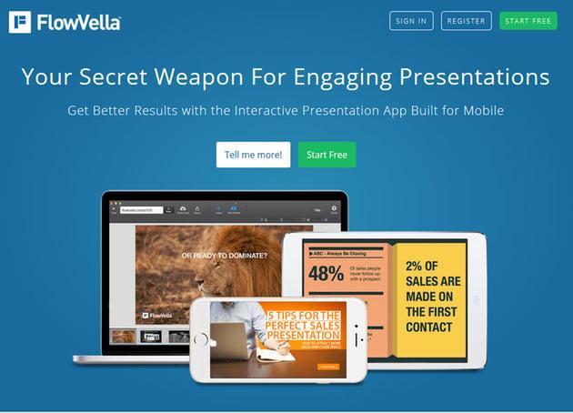 FlowVella presentation software
