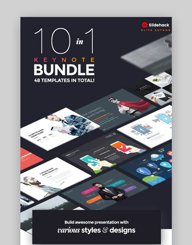 10 in 1 - Pitch Keynote Bundle