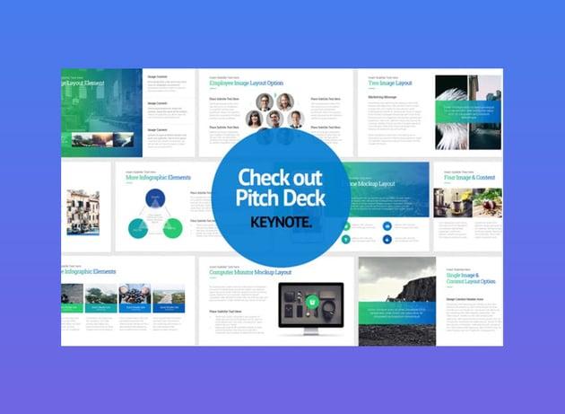 Pitch Deck Start Up Keynote