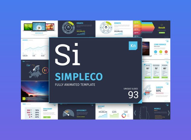 SIMPLECO Keynote Presentation Template