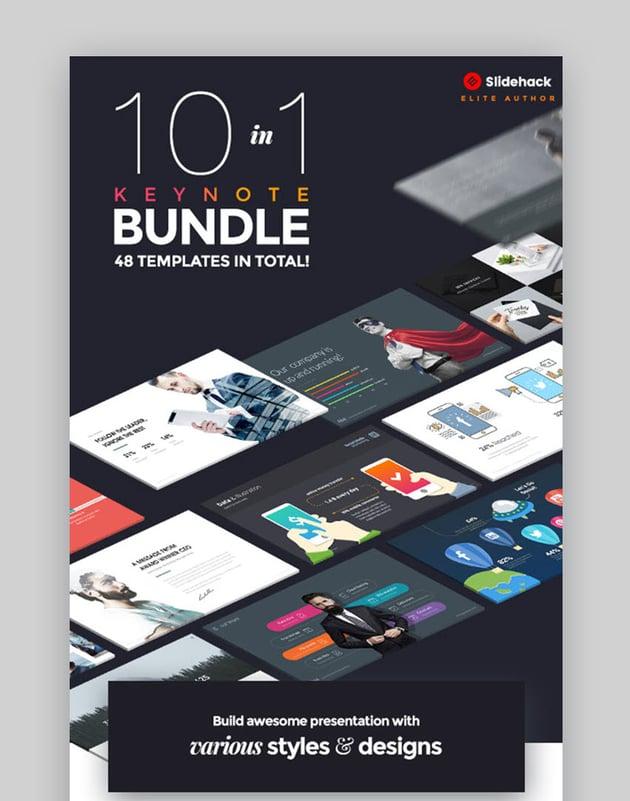10 in 1 Pitch Keynote Bundle
