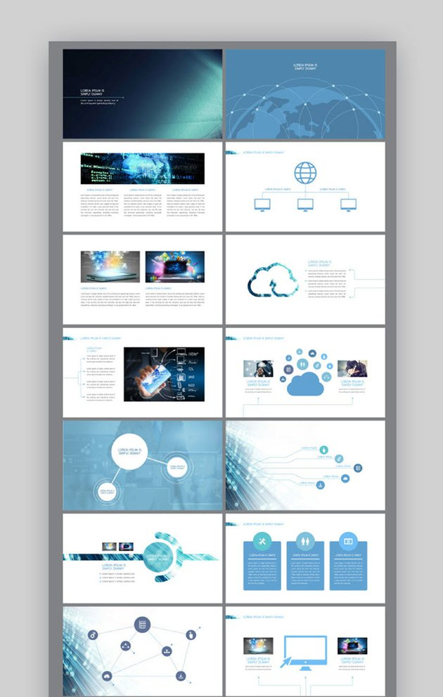 Professional Presentation for Information Technology