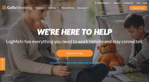 GoToMeeting online meeting software