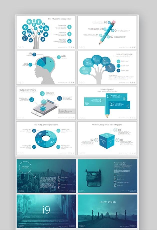 i9 Template System Slides Inspiration