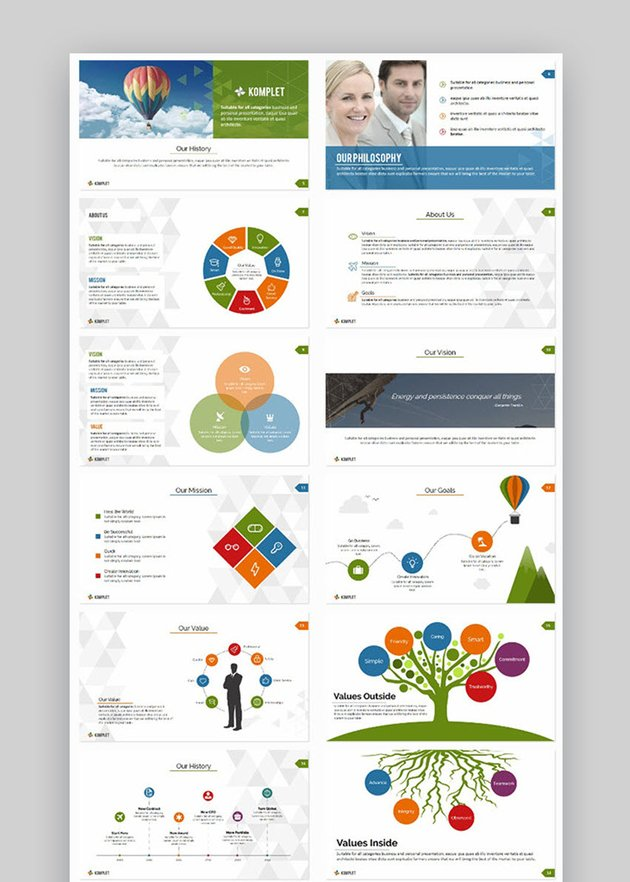Komplet V3 PowerPoint Template