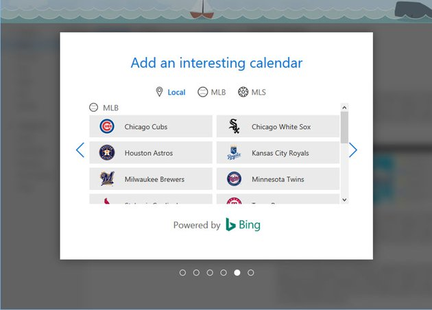 new outlook email calendar