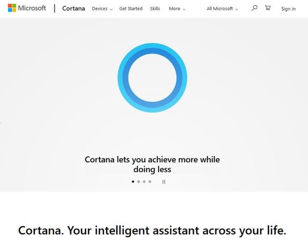 cortana personal assistant app