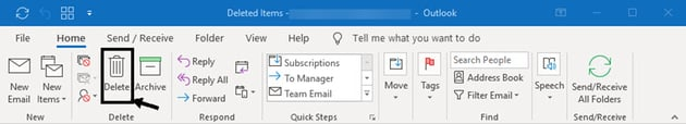 how to mass delete emails