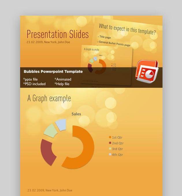 Bubbles PowerPoint Template