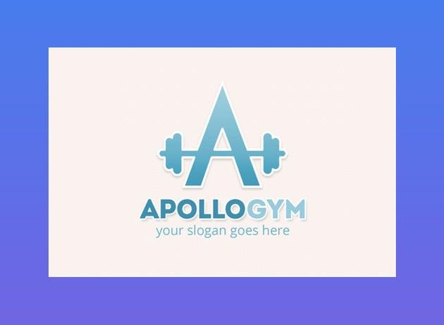 Apollo gym Logo