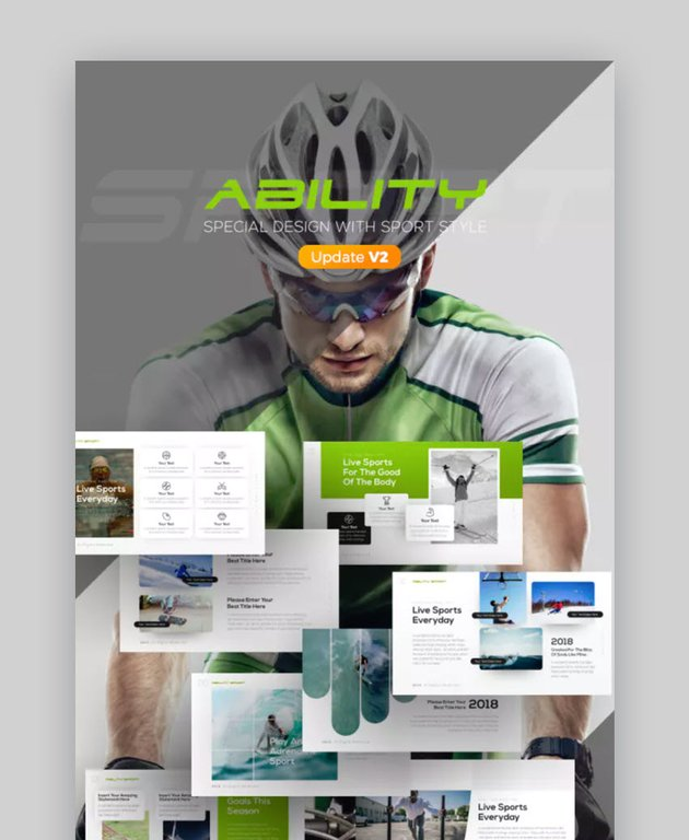 Ability Sports Presentation Ideas