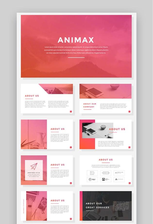 Animax - Animated Business Finance PowerPoint Presentation