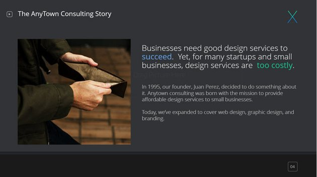 our story slide premium template