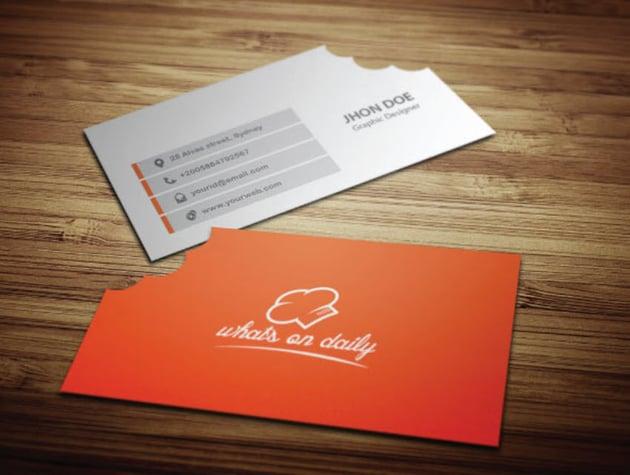 Restaurant Business Card Template