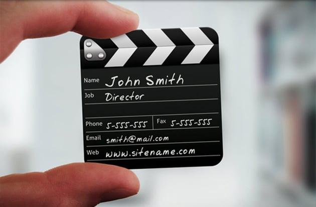 Director Mini Squared Business Card