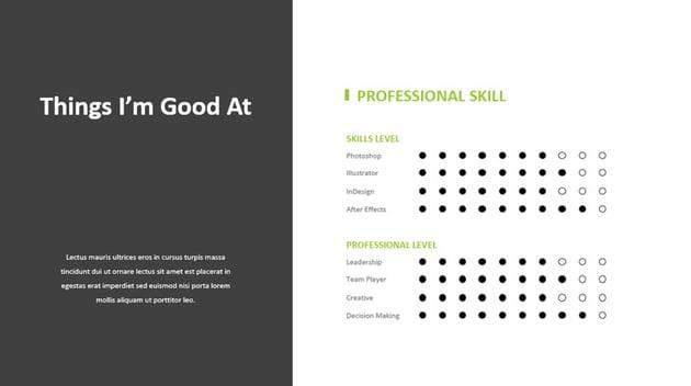 Resume PowerPoint