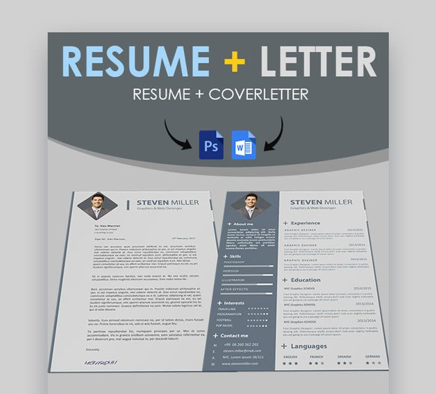 Simple Resume and Cover Letter