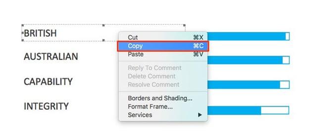 Copy Text Block