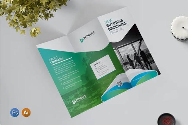 Z-Fold Brochure Template
