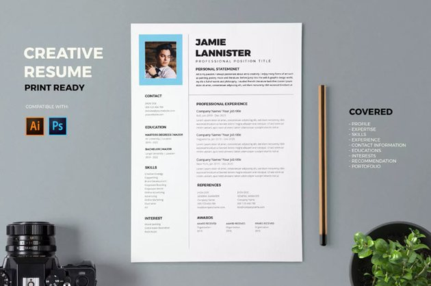 Resume with Interest Section