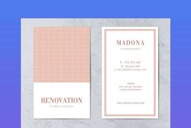 Renovation Business Card