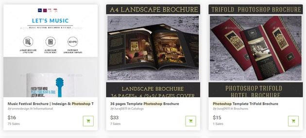 Photoshop Brochure Templates GraphicRiver