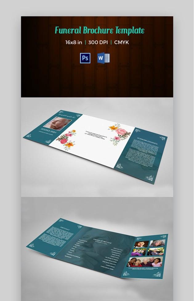 Brochure - Funeral Brochure Template
