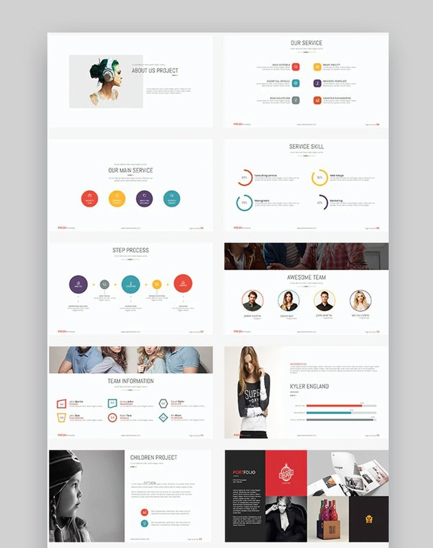 Focus Presentation Template