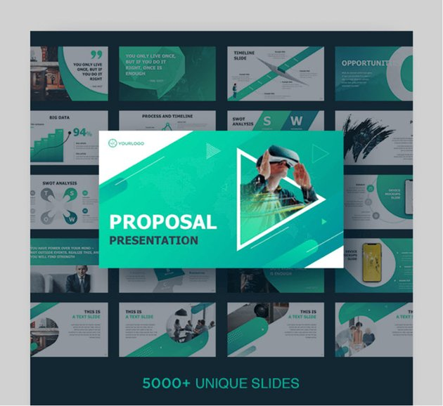 business project proposal presentation