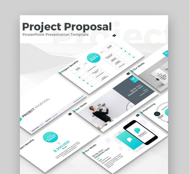 project powerpoint template business proposal