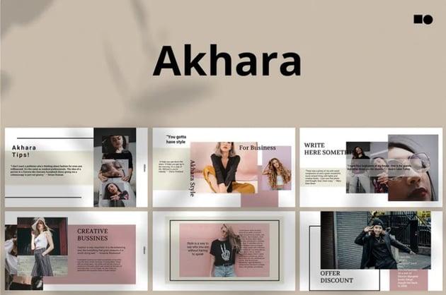 Akhara Template