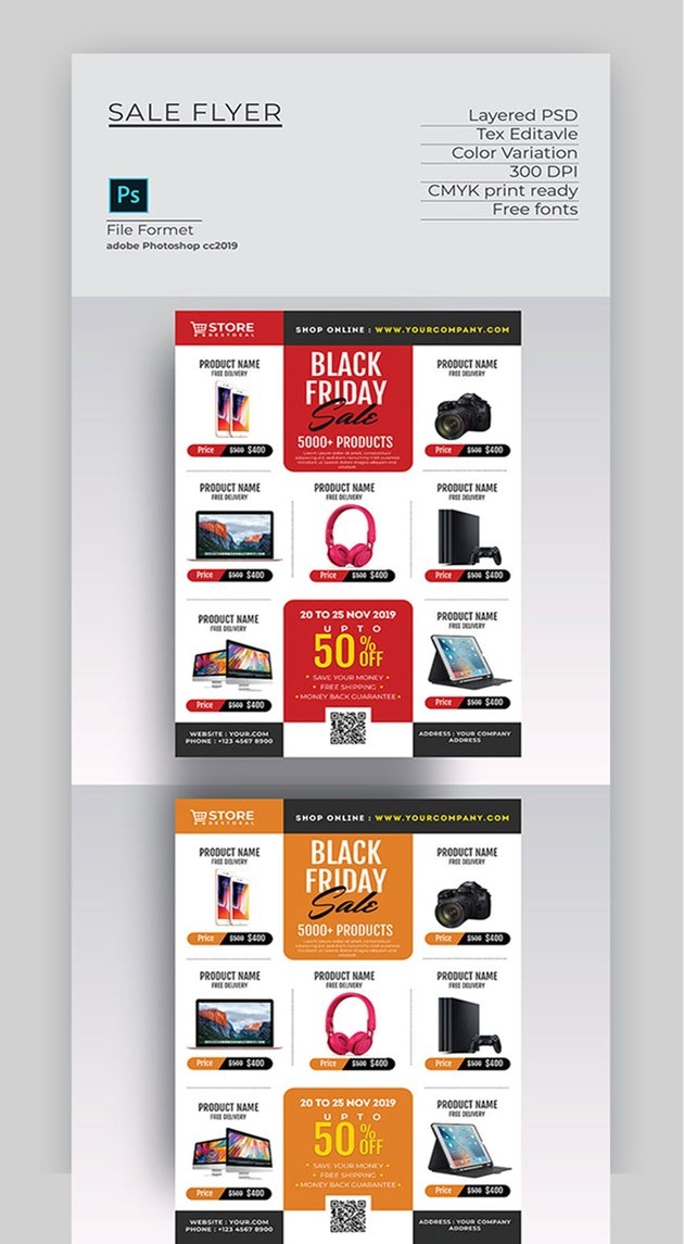 Product Sales Flyer