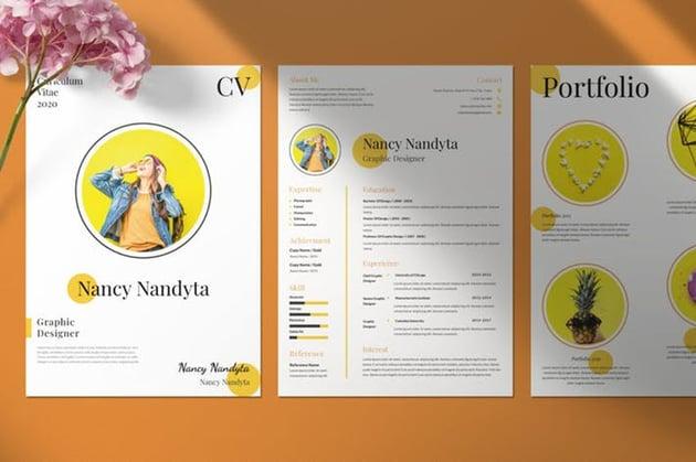 Clean Resume  CV Portfolio