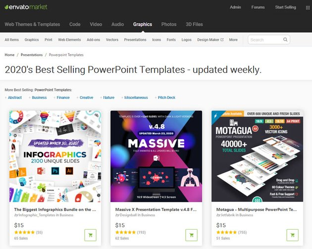 GraphicRiver Download Template PPT