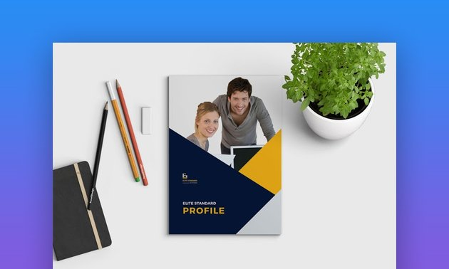 Cool InDesign Brochure Template