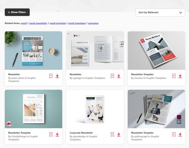 Microsoft Word Newsletter Templates for Envato Elements