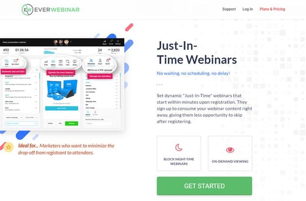 EverWebinar Webinar Software