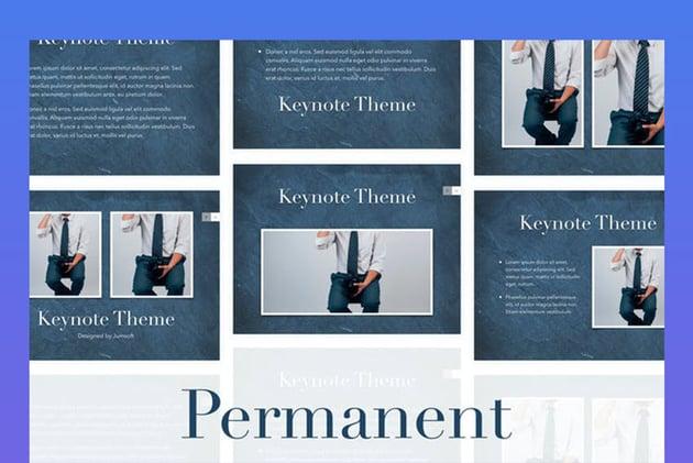 Permanent Keynote Template