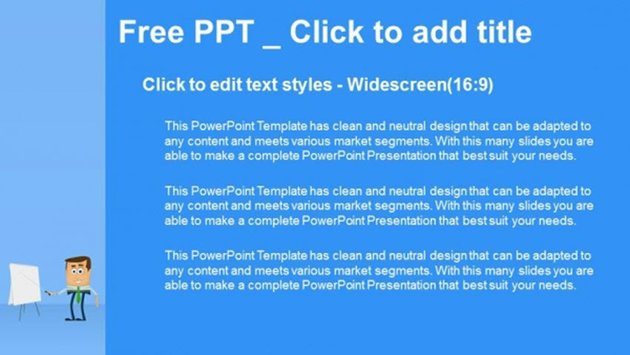 Businessman Presentation PowerPoint Templates